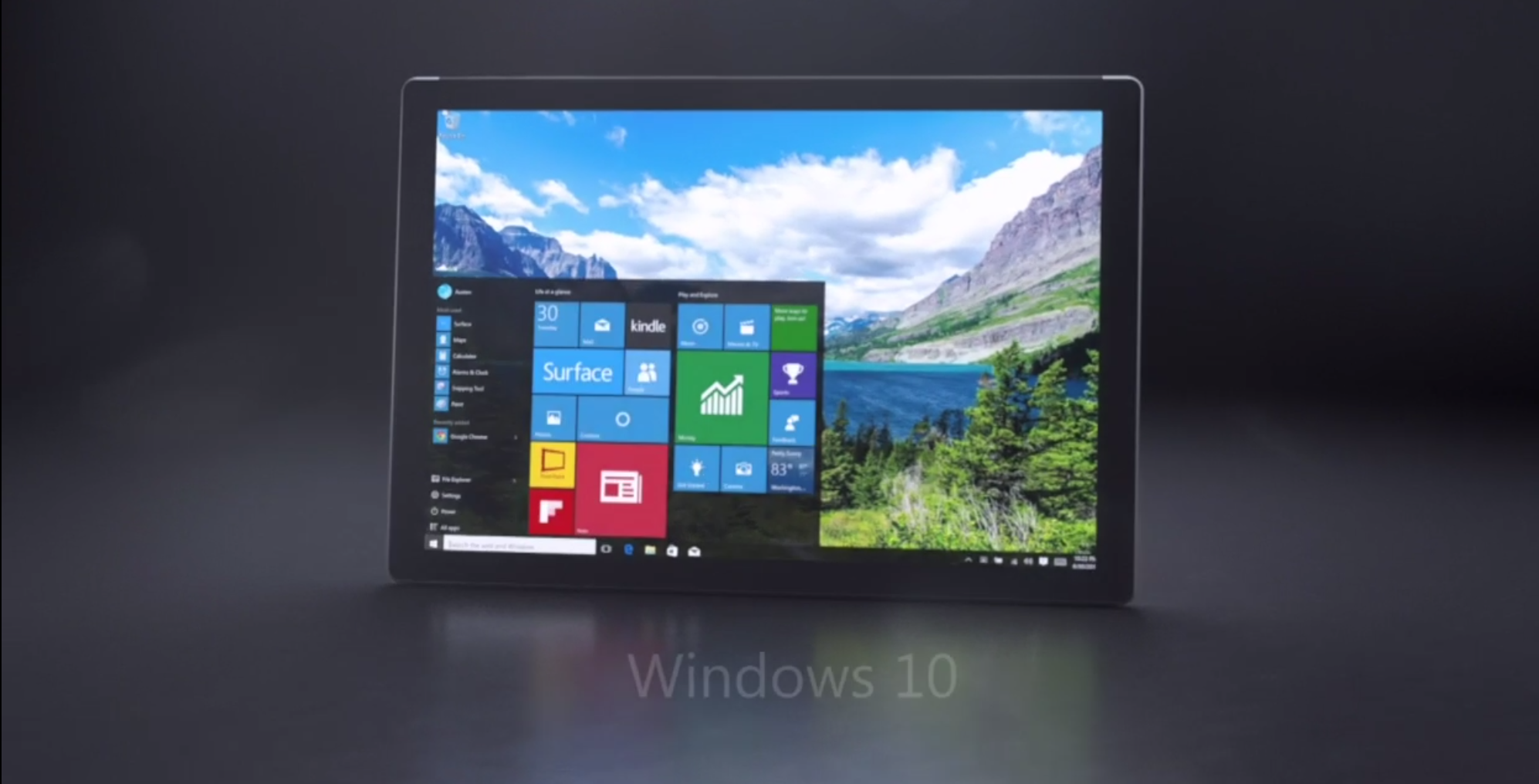 how to take a screenshot on windows surface 4