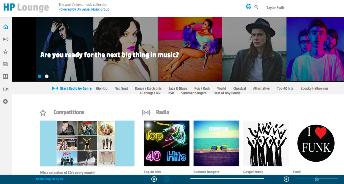 HP rebrands its music streaming service, but it won't be challenging Spotify any time soon