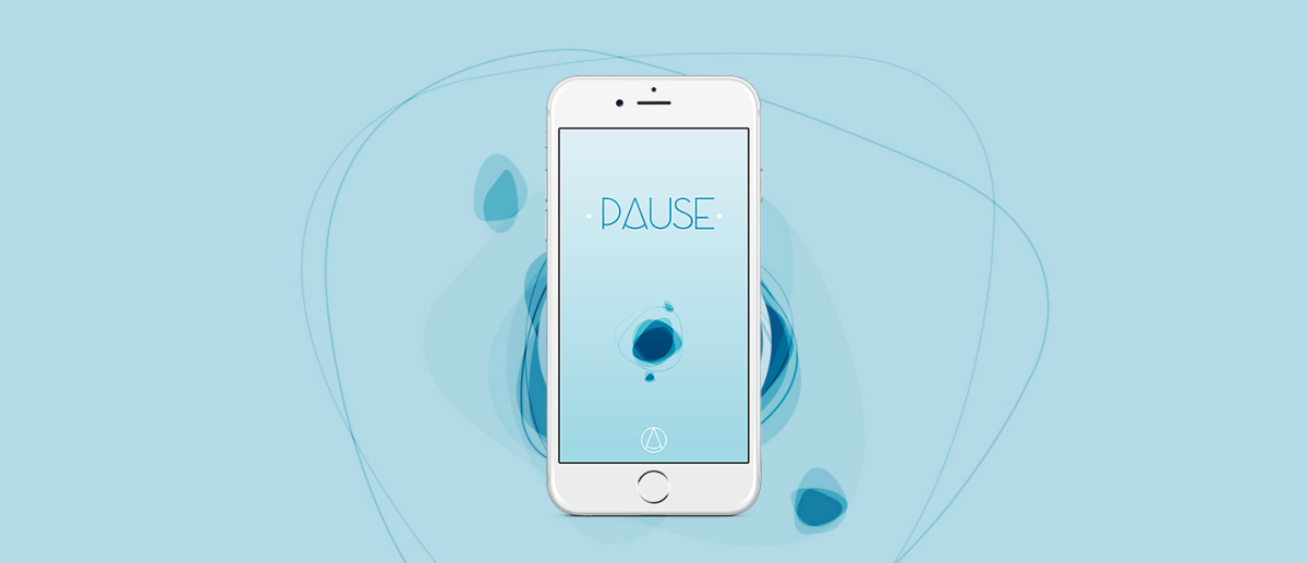 PAUSE for iOS promises to soothe your mind and relieve stress