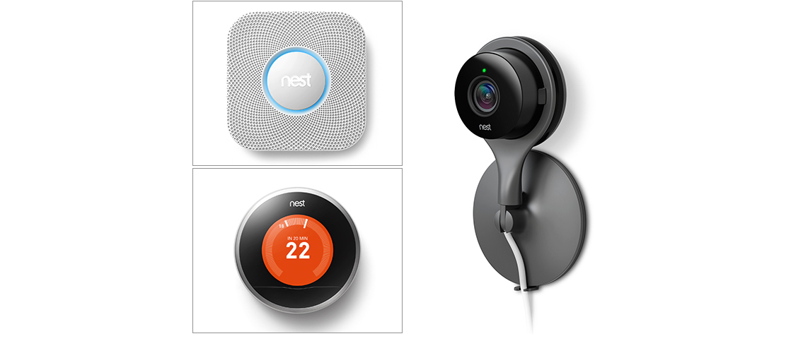Win a Nest Thermostat, Protect and Cam! Make your home smarter