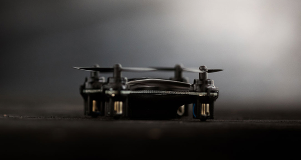 Stunt flying made simple: The limited edition Matte-Black SKEYE Nano Drone