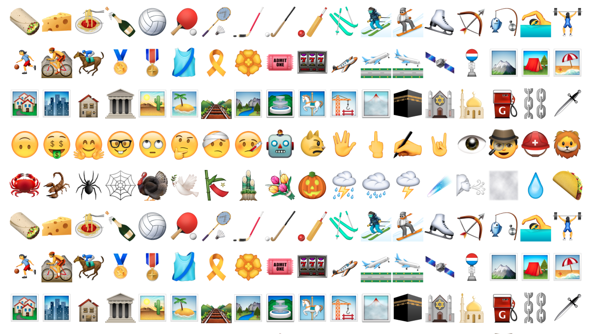 You can get tons of new emoji by updating your iPhone right now