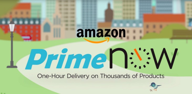 Amazon's Prime Now 1-hour delivery expands to the San Francisco Bay area