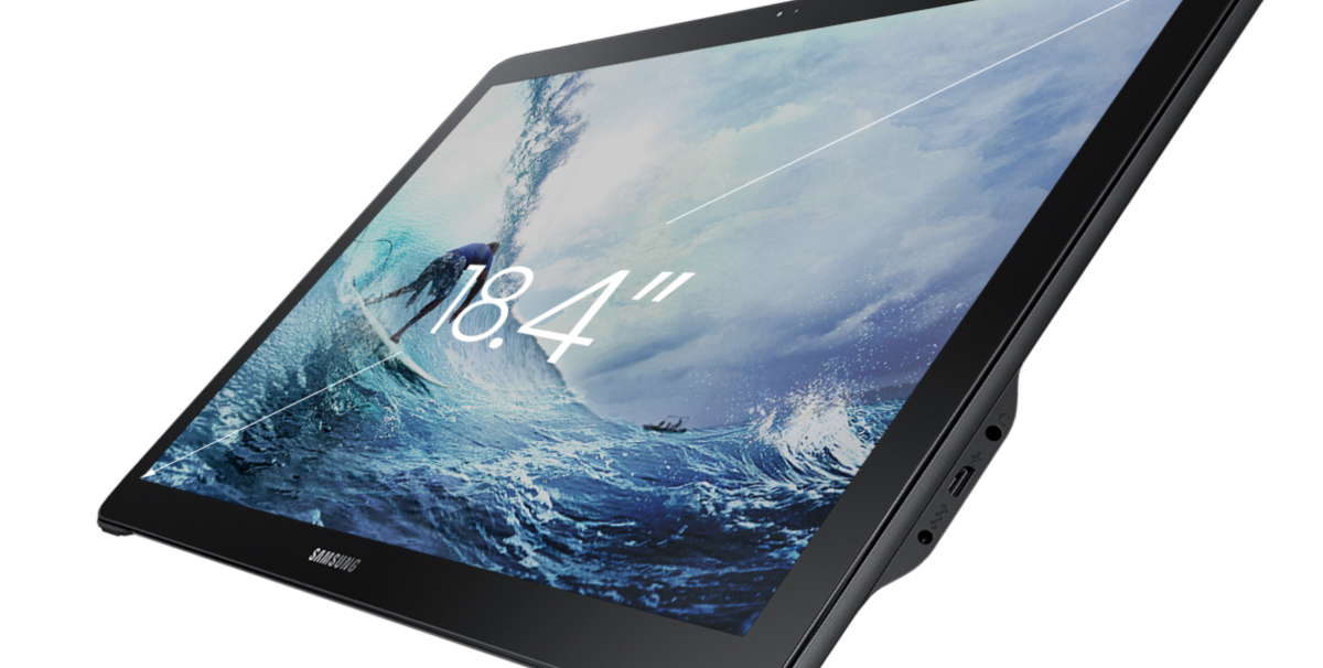 Samsung has a giant 18-inch tablet because of course it does