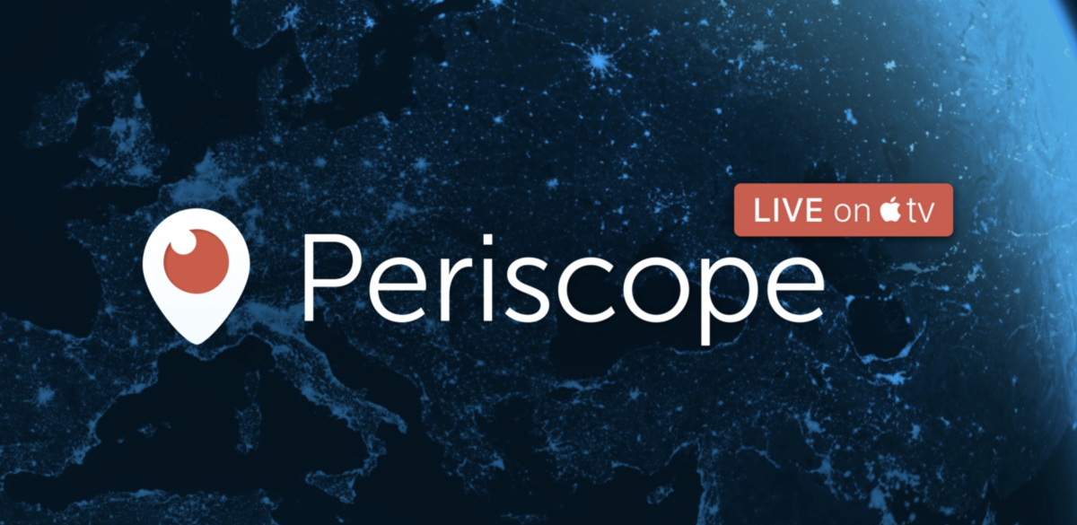 Periscope's Apple TV app is now ready for your weekend binge-watching