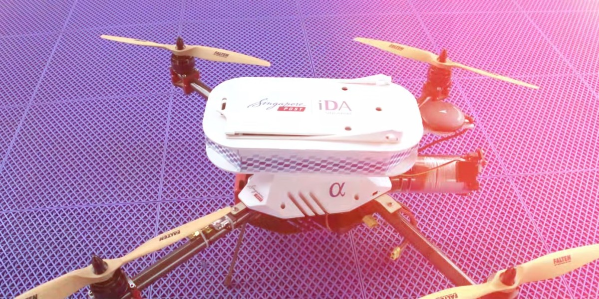 Singaporeans may soon receive their mail by drone