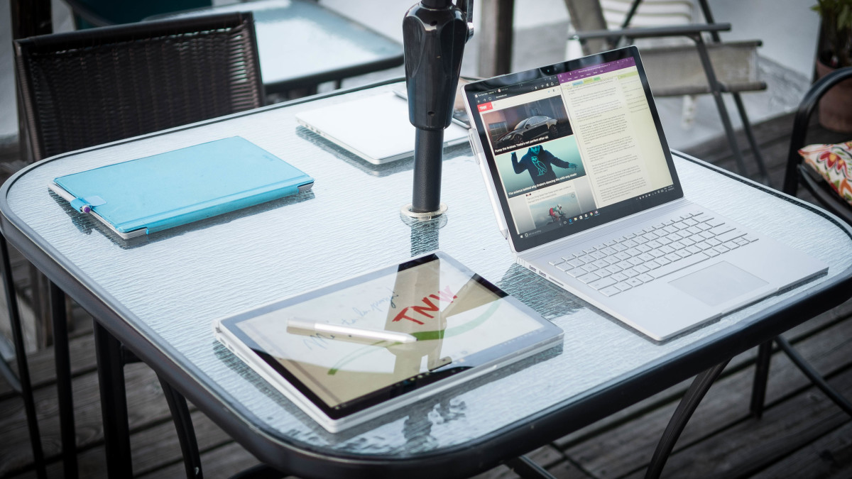 Microsoft's Surface Book and Surface Pro 4 are now officially available