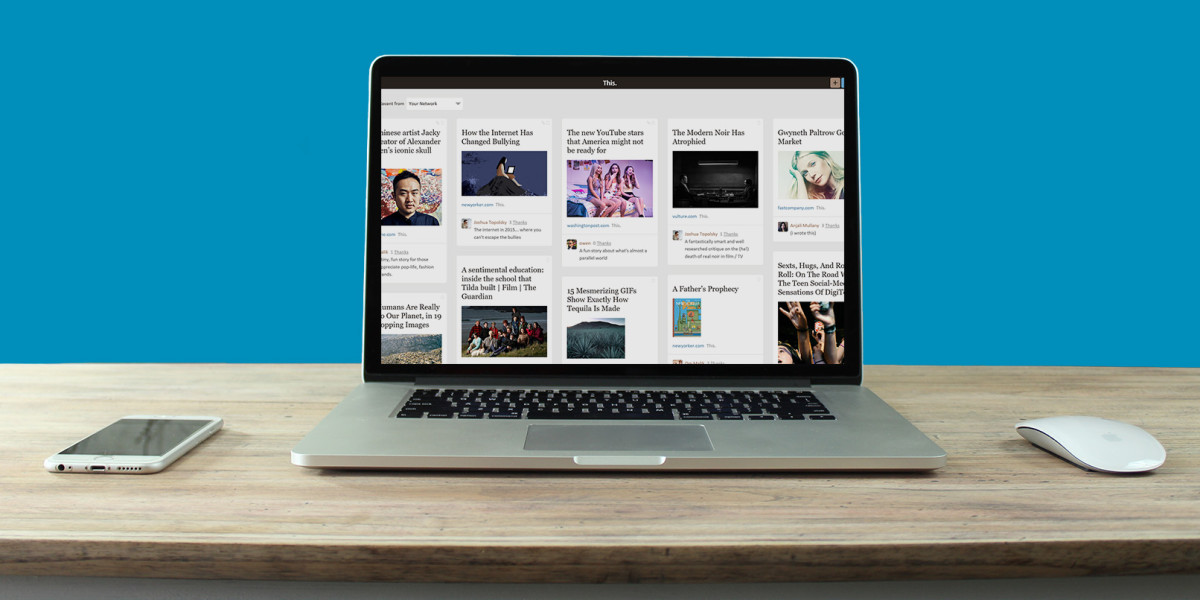 Content sharing service 'This' is now better at showcasing links, but it's a long way ...