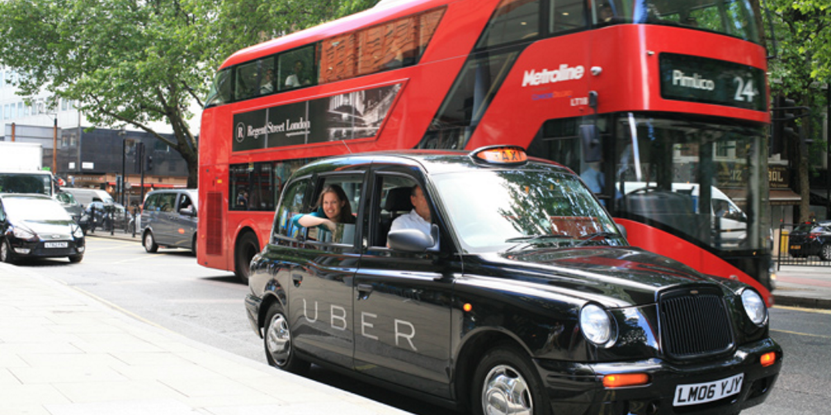 Uber wins crucial court case in ongoing London taxi wars