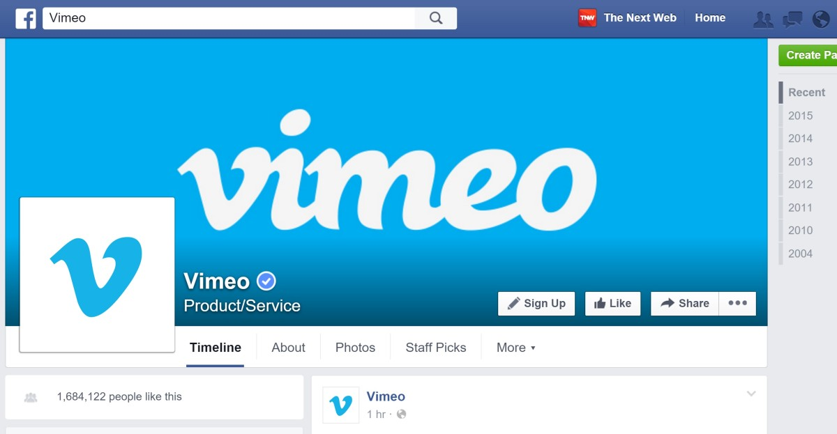Why Facebook should buy Vimeo if it wants to take on YouTube