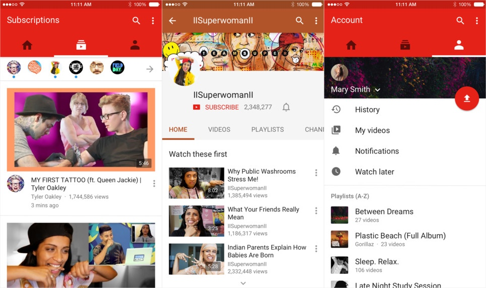 YouTube's redesigned iOS app lets you edit videos before uploading