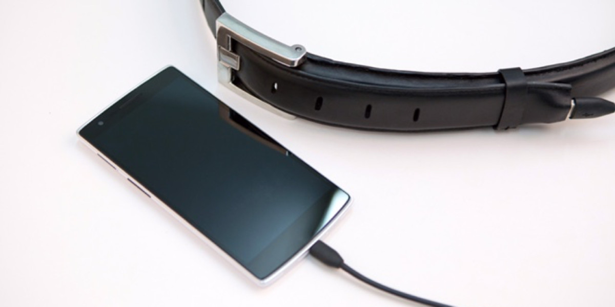The Ion Belt will charge your phone and keep your pants up