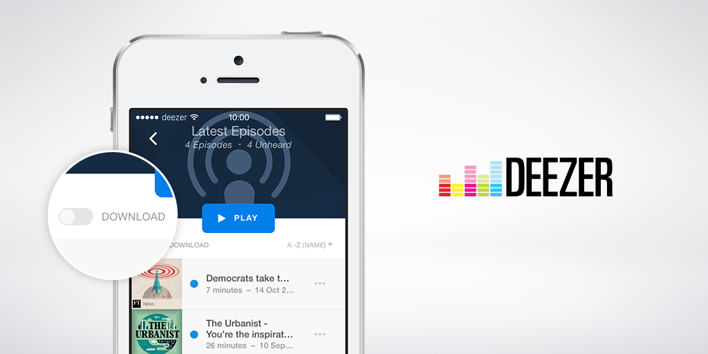 Deezer takes on Google Play Music with 20,000 new podcasts