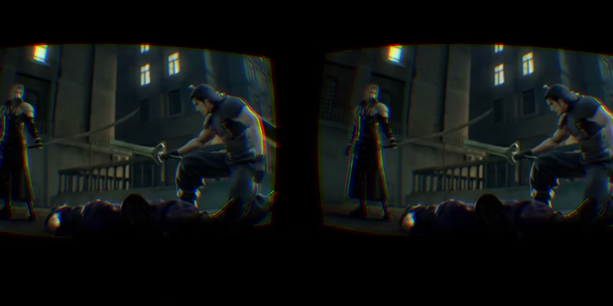 Play PSP games like Crisis Core Final Fantasy VII in VR, but only if you have an Oculus Rift