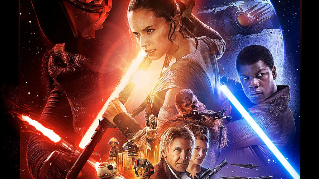 Behold: The new 'Star Wars: The Force Awakens' poster has landed