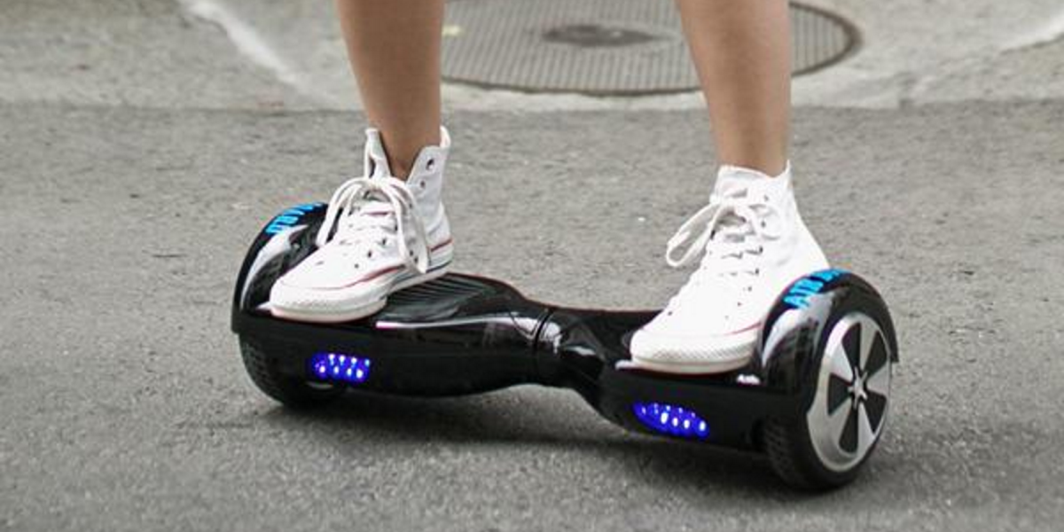 Those annoying hoverboards will be legal in California from 2016
