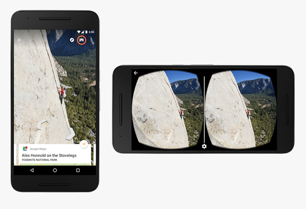 Google Street View adds virtual reality support