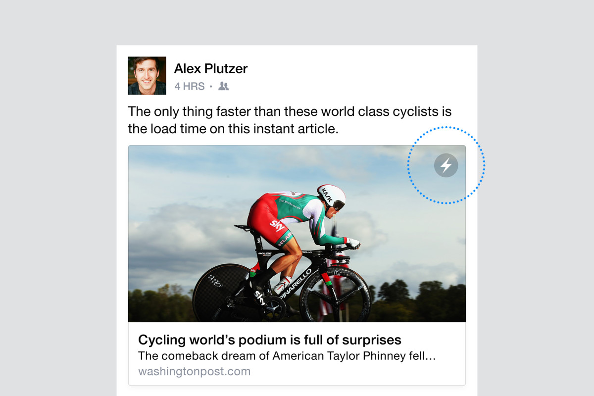 Facebook's Instant Articles are now available to all iPhone users