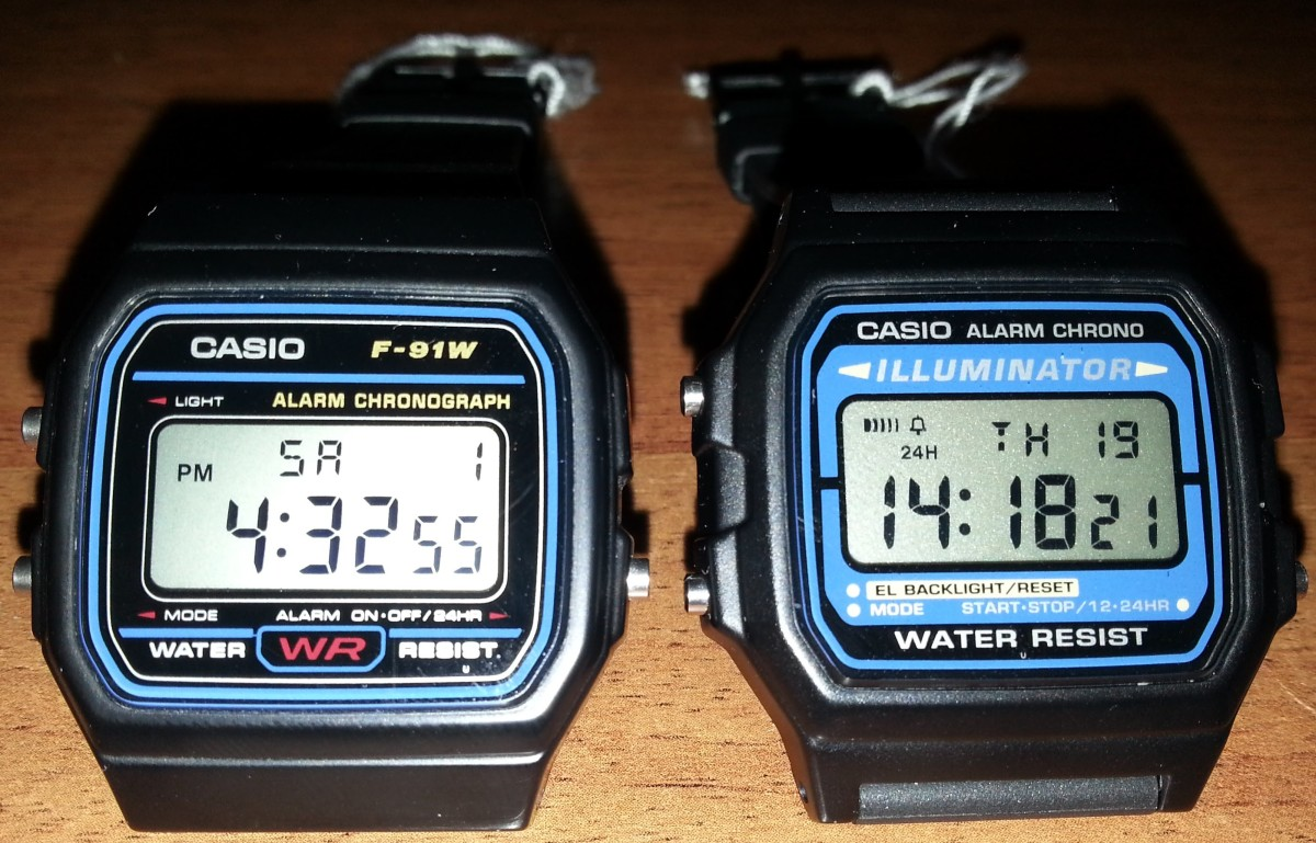 How the Casio F-91W became the world's most versatile (and dangerous
