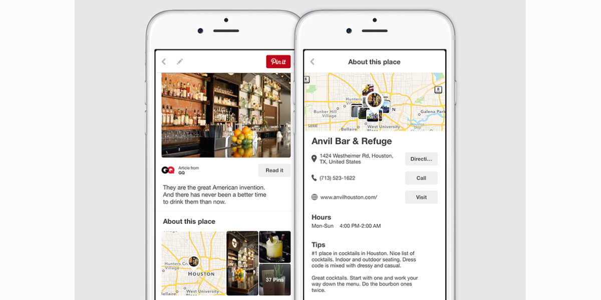 Pinterest adds location data to billions of pins