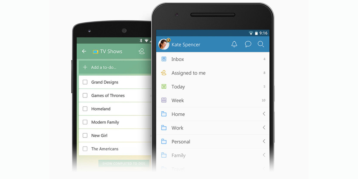 Wunderlist update for Android supports Marshmallow