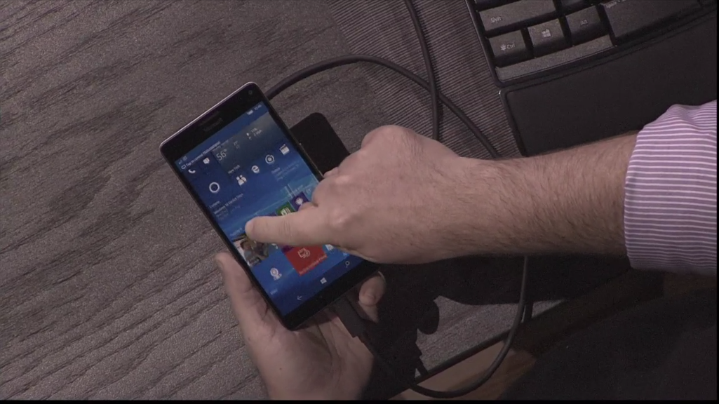 Microsoft's Continuum for mobile puts a PC in your pocket