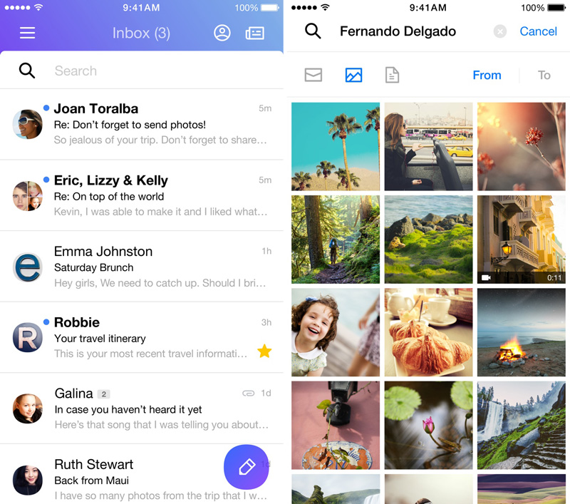 Yahoo Mail search to find messages, photos or attachments