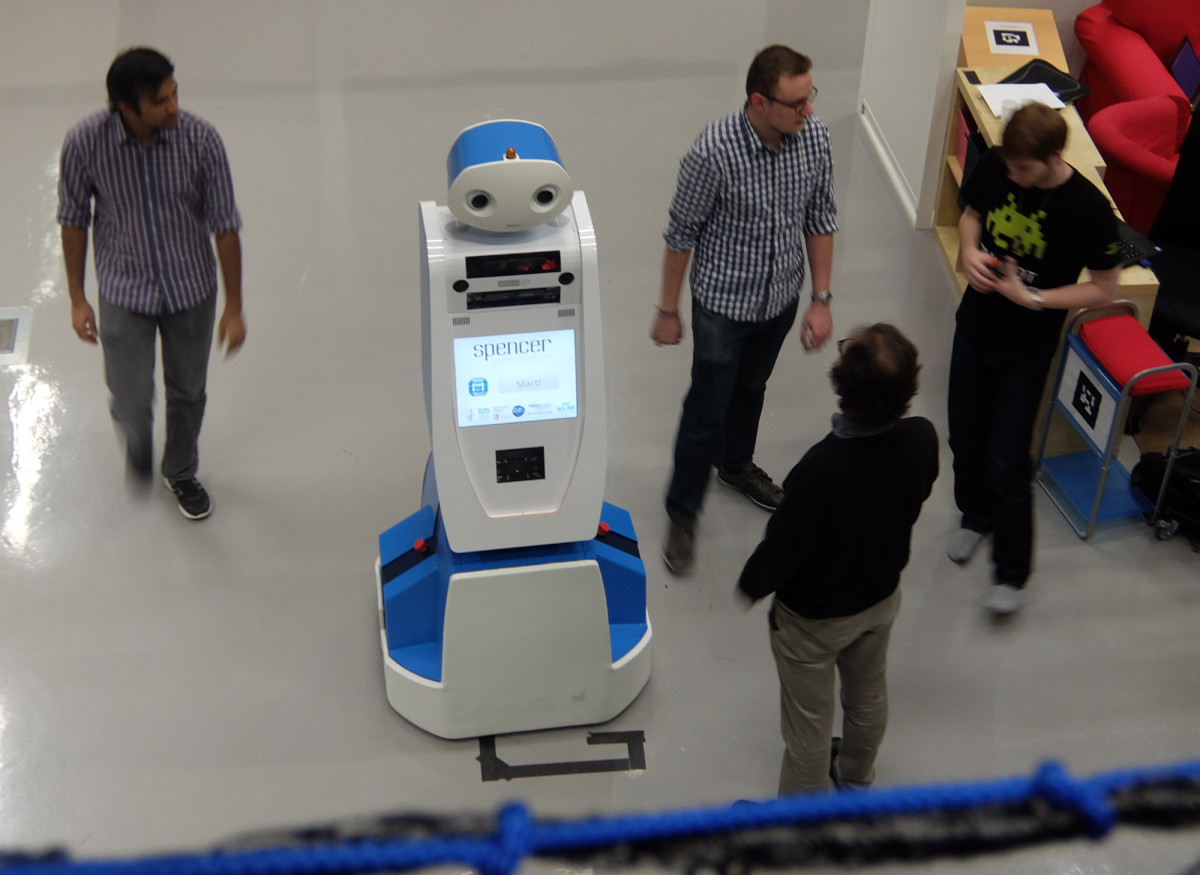 Meet Spencer, the airport robot that will make sure you don't miss your flight