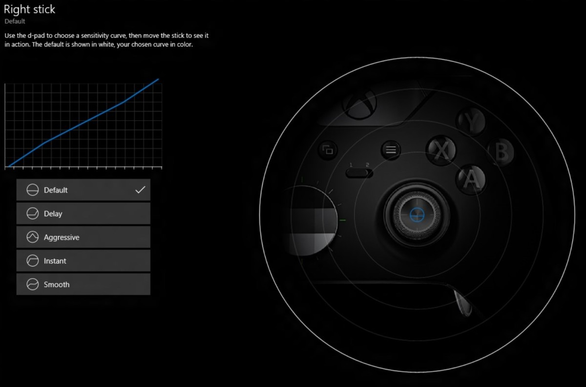Accessories app Xbox Elite controller