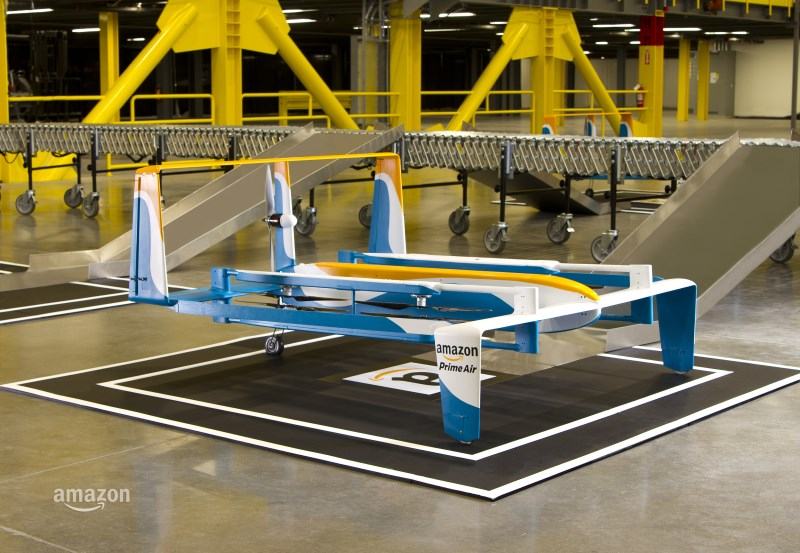 Amazon is testing drones to deliver orders in 30 minutes or less
