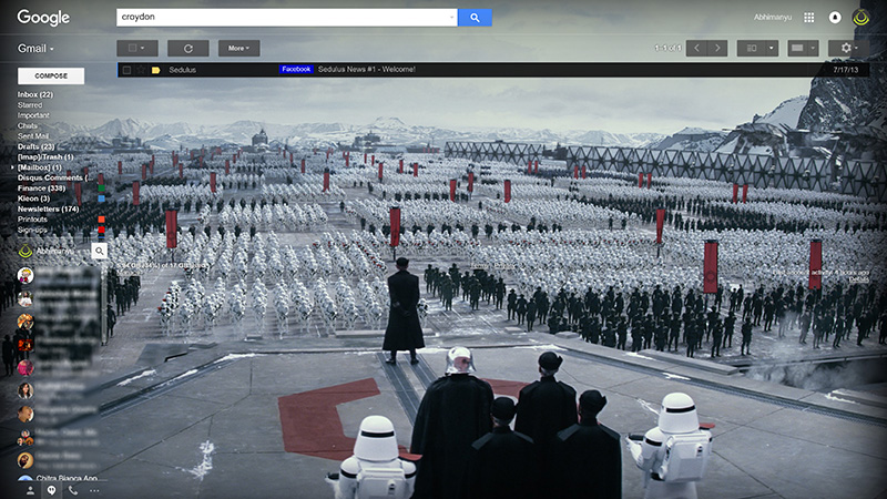 choose a side to give your google apps a star wars makeover