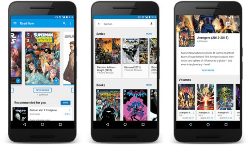 Comic series now have their volumes, issues and other editions sorted on curated pages