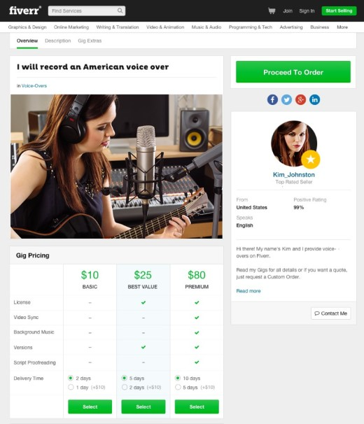 Fiverr will soon allow sellers to set their own rates and bundle their services