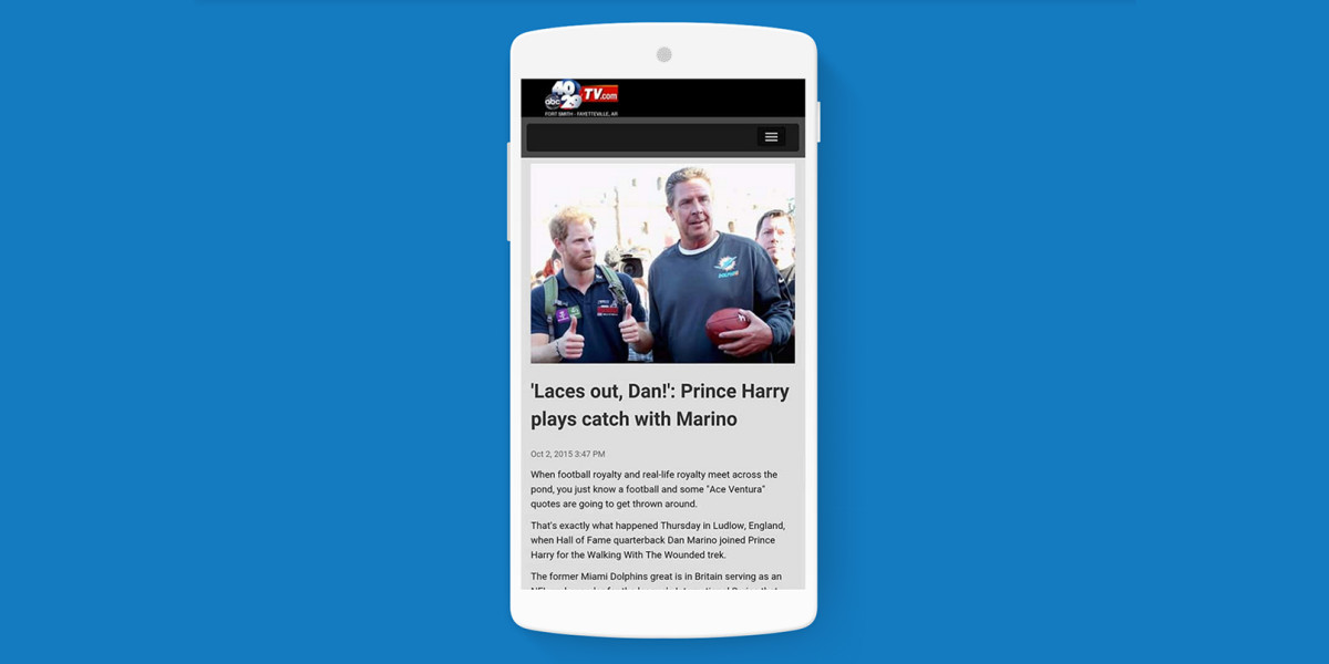 Google will route users to Accelerated Mobile Pages starting February 2016