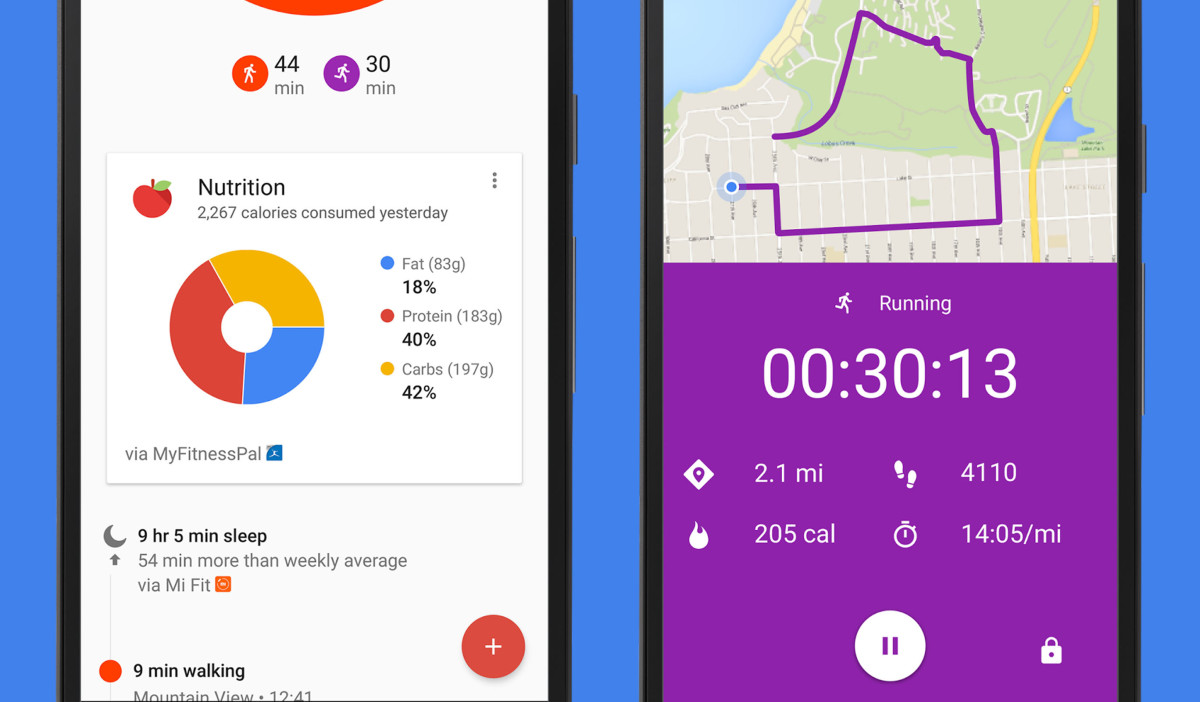 Google Fit finally adds running stats and calorie counts from popular fitness apps