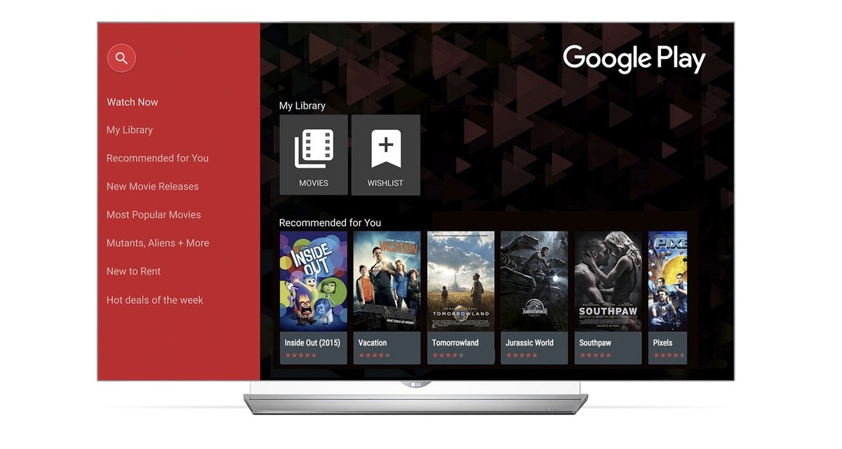 LG Smart TVs will soon have Google Play Movies and TV, a first outside of Android TV