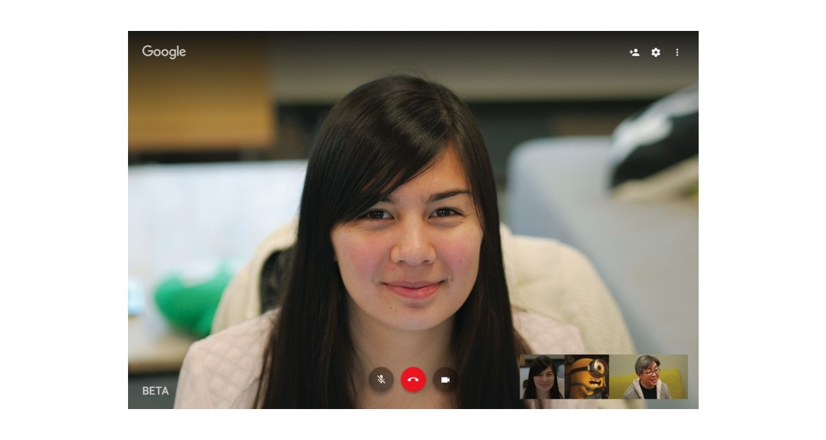 Google Hangouts for the Web being updated with new layout and better streaming