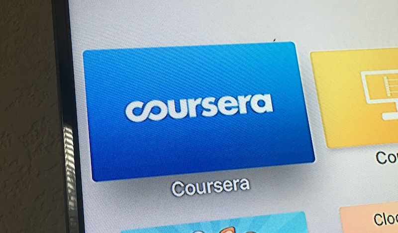 Stay put, couch potatoes; Coursera is now available for Apple TV