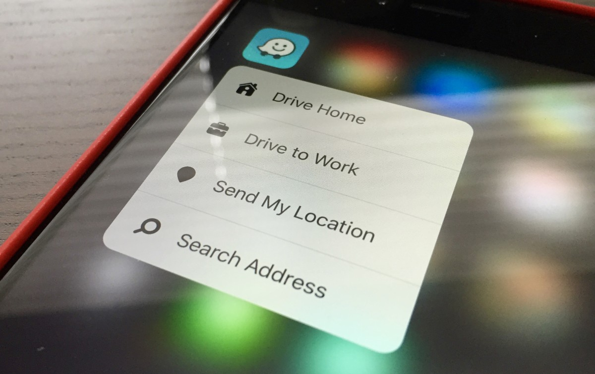 Waze for iOS now supports 3D Touch, but lacks the shortcuts you probably want