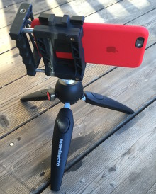 Manfrotto Pixi Evo 2 stand for iPhone