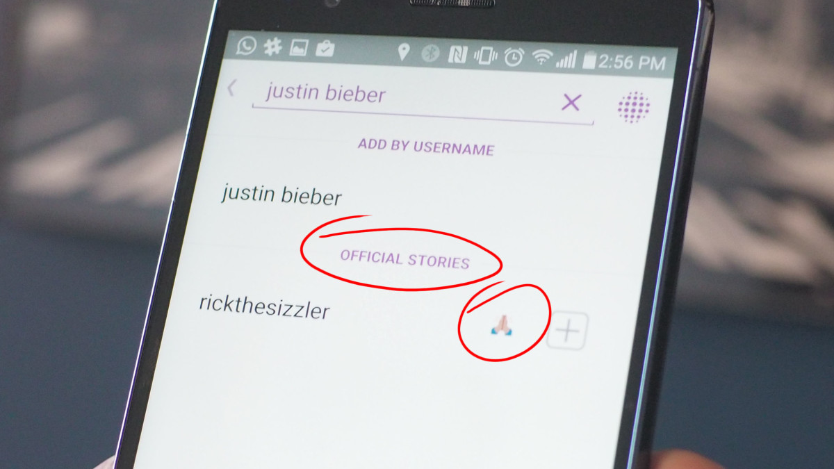 Snapchat secretly implemented celebrity verification in its latest update
