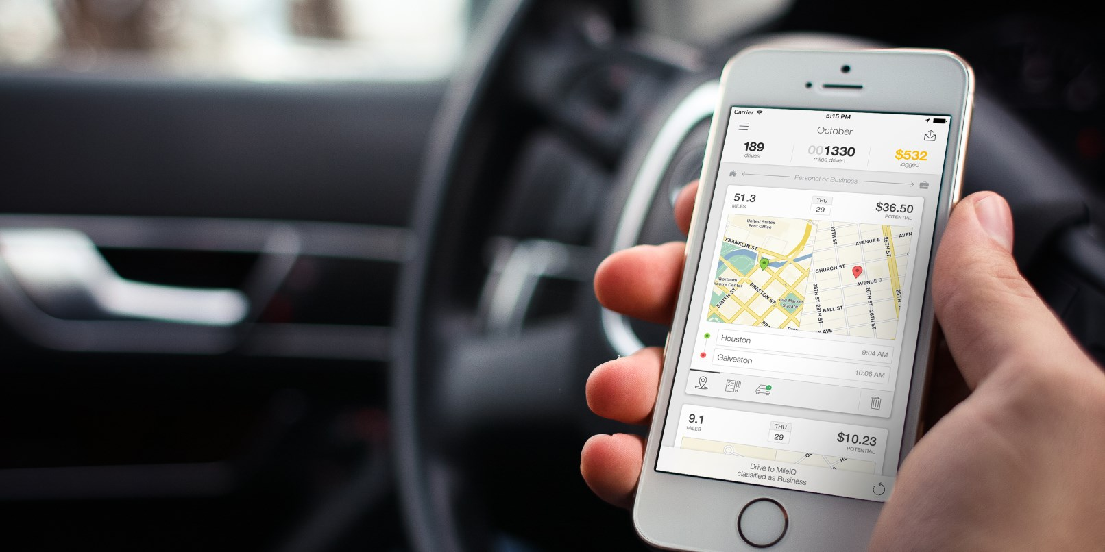 Microsoft acquires mileage-tracking app MileIQ