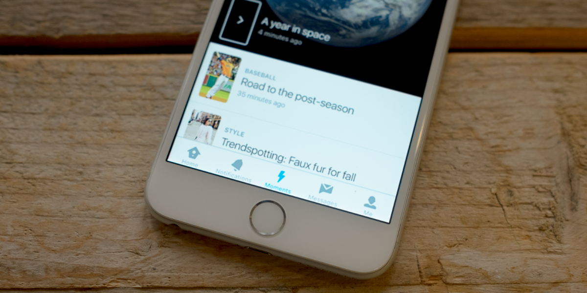 Twitter Moments launches in the UK