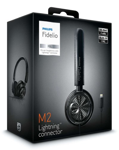 Philips has already released a pair of headphones with a Lightning connector