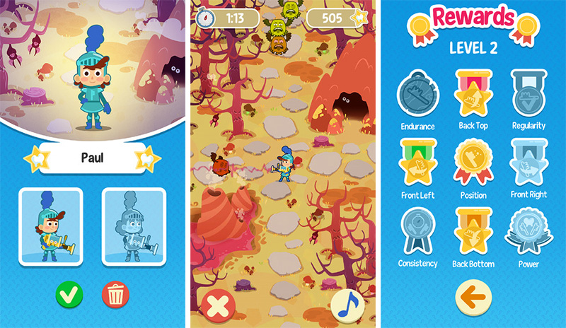 Playbrush's first game encourages kids to brush thoroughly and stick to their routine