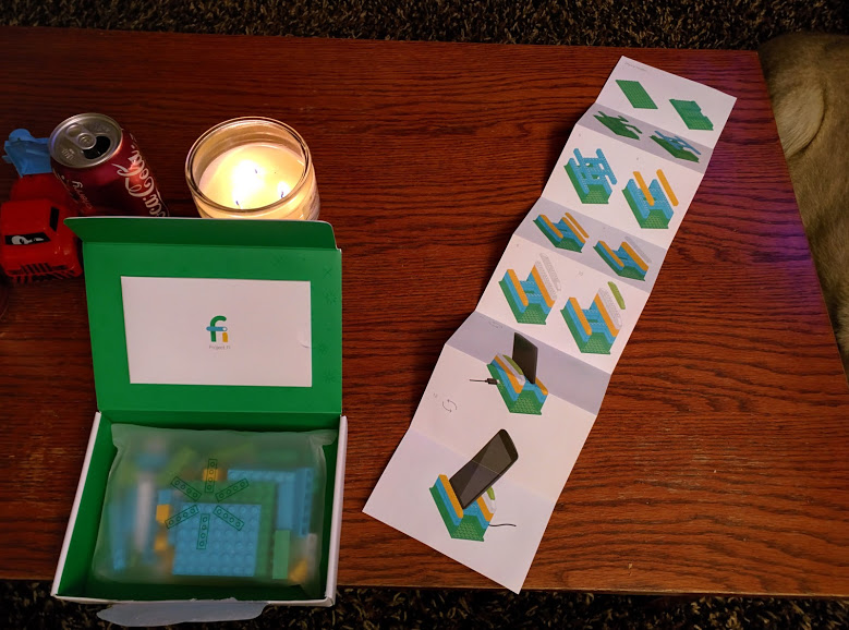 Google is sending Project Fi subscribers this brilliant Lego kit
