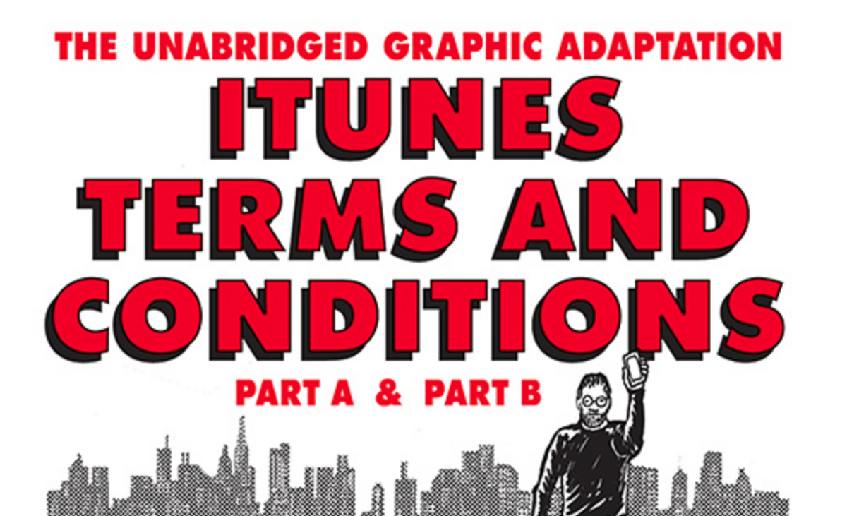The iTunes Terms and Conditions are far more interesting as a comic