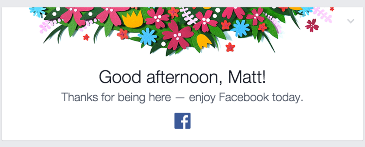 Facebook is creeping people out with these weirdly polite messages in Newsfeeds