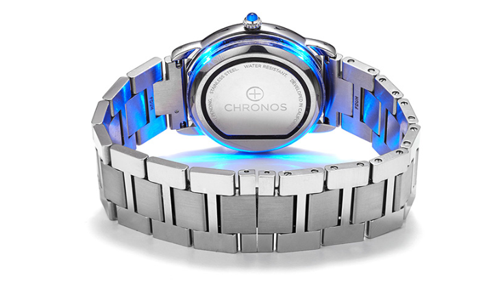 Meet Chronos, the adhesive disk that can make almost any watch more like an Apple Watch