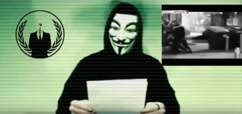 Anonymous claims first victims in war with Islamic State